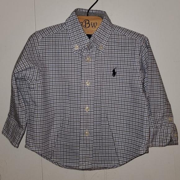 RL Plaid Cotton Poplin Shirt
